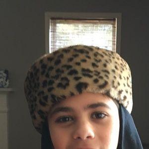 Russian Style Flap over Leopard Faux Fur Hat
